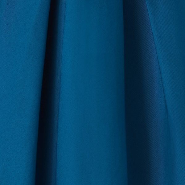 modre retro šaty látka