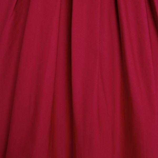 červené retro šaty burgundy