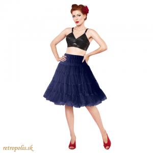 Spodnička pod šaty modrá (nie len retro)