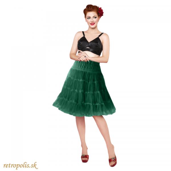 spodnička pod šaty zelená