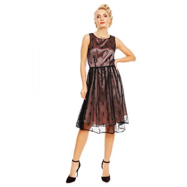 spoločenské šaty čipkové