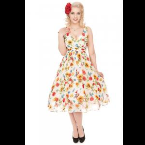 Žiarivé šaty s kvetmi zaliatymi letným slnkom☀️