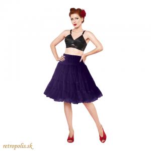 Spodnička pod šaty fialová (nie len retro)
