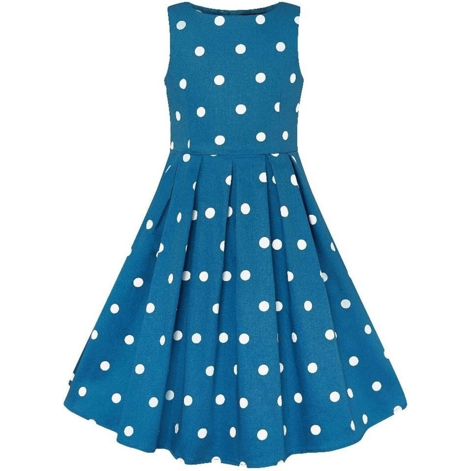 dievcenske-vintage-saty-modre