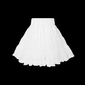 Detská spodnička pod šaty biela