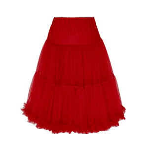 Spodnička pod šaty červená 65cm