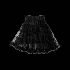 Detská spodnička pod šaty čierna