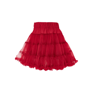 Detská spodnička pod šaty tmavo červená