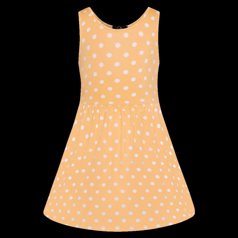 jemne-dievcenske-saty-vintage-oranzove