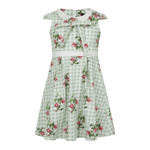 Detské šaty letné ruže
