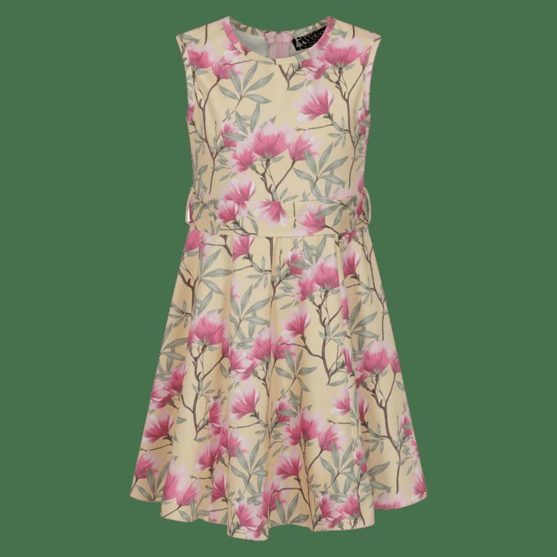 kremove-detske-vintage-saty-ruzove-kvety