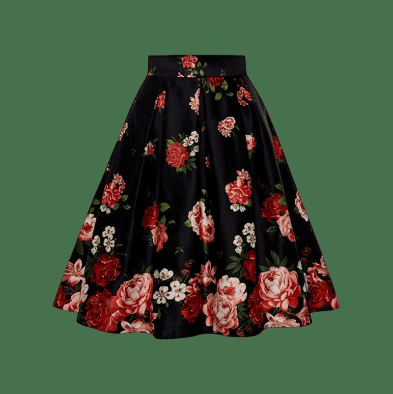 luxusna-retro-cierna-sukna-ruze-retropolis