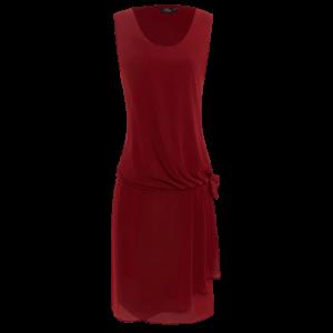 Vintage šaty v burgundy farbe vhodné na retro párty