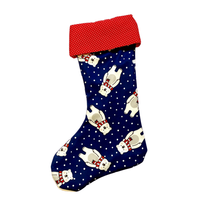 mikulasska-ponozka-na-vianoce-retro-polarny-medved