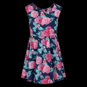 Letné detské šaty hortenzia