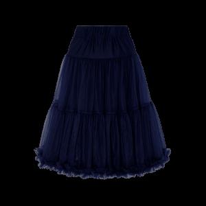 Spodnička pod šaty modrá 59cm