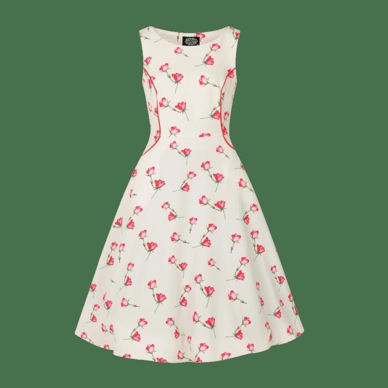 rozkosne-dievcenske-saty-vintage-strih-padajuce-kvety