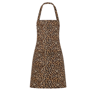 Retro zástera leopardí vzor