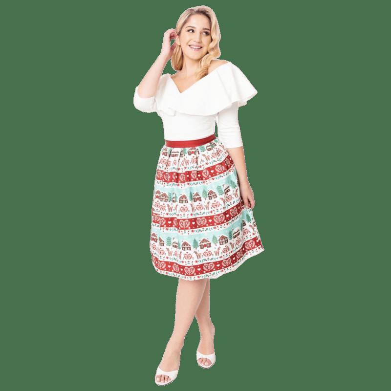 sukna-na-vianoce-vintage-biela-cervena-zelena-pasiky