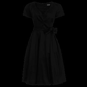 Čierne retro šaty Iris