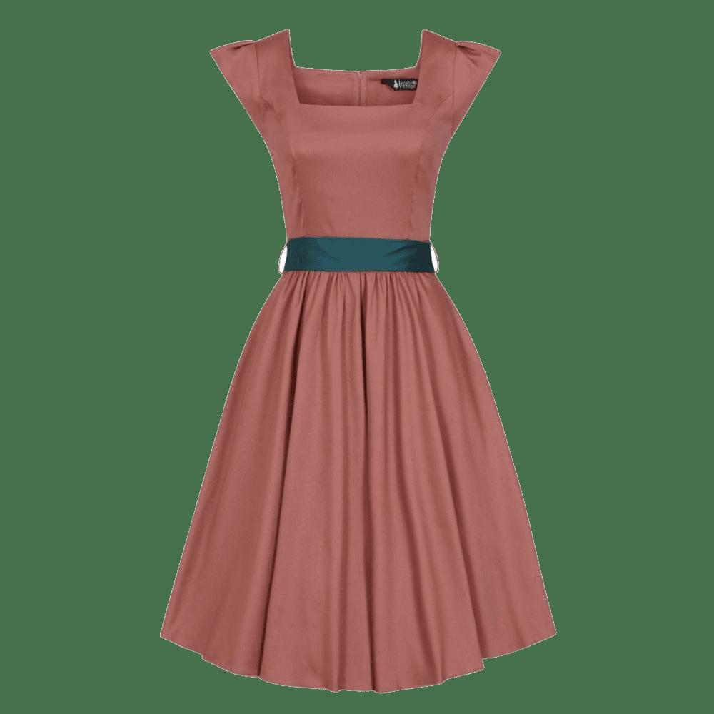 jemne-oranzove-retro-saty-scarlet