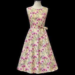 Retro šaty Audry magnólgia