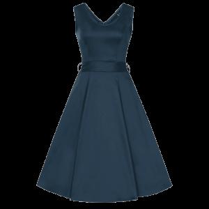 Tmavomodré šaty Charlotta