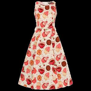 Krémové šaty muffin Audry