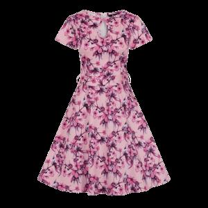 Vintage šaty Judy ružové