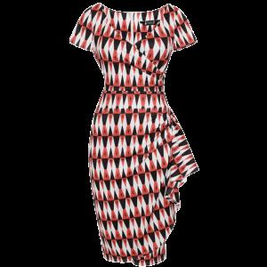 Vintage šaty Elsie Harlequin
