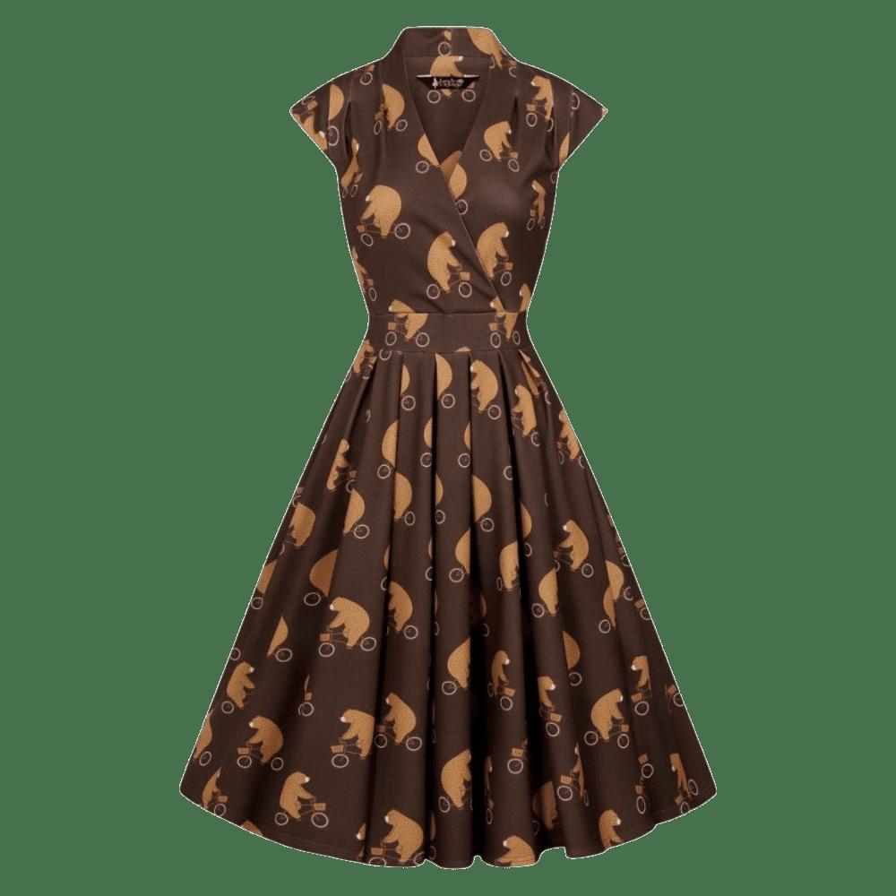 vintage-saty-eva-hnede-vzor-medved-bez-rukavov