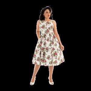 Retro šaty Fleur Swing