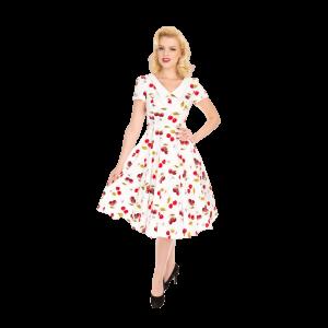 Vintage šaty Cherry-On-Top
