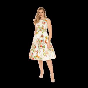 Kvetinové šaty Layla
