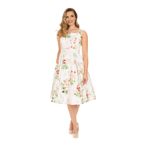Nežné biele šaty Marion
