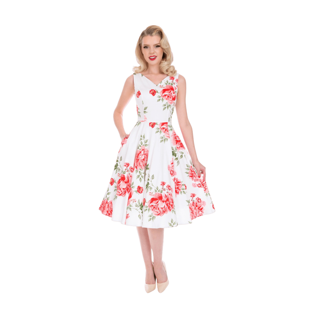 romanticke-vintage-biele-kvetinove-saty-na-svadbu-nina