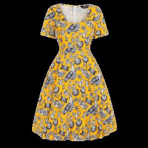 Šaty Phoebe modrý Medailón