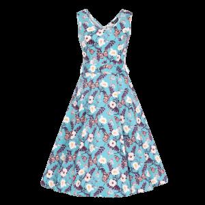 Retro šaty Charlotta Motýľ
